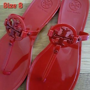 Like New! Tory Burch Flip Plops